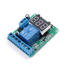Relay Control Switch Over Voltage and Under Voltage Protection Protective Device Relay Battery Charge Discharge Timing