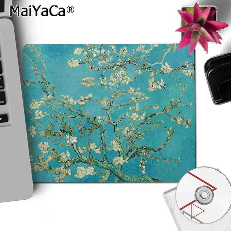 Maiyaca Vincent Van Gogh The Starry Night Flower Aesthetic Art Computer Gaming Mouse Mats Gaming Mousepad For Pc Laptop Mouse Pads Aliexpress