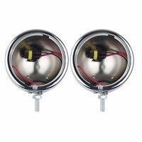 1 Pair 4 5 Inch Round Mounting Bracket Ring Mount Brackets For Harley Davidson LED Headlight