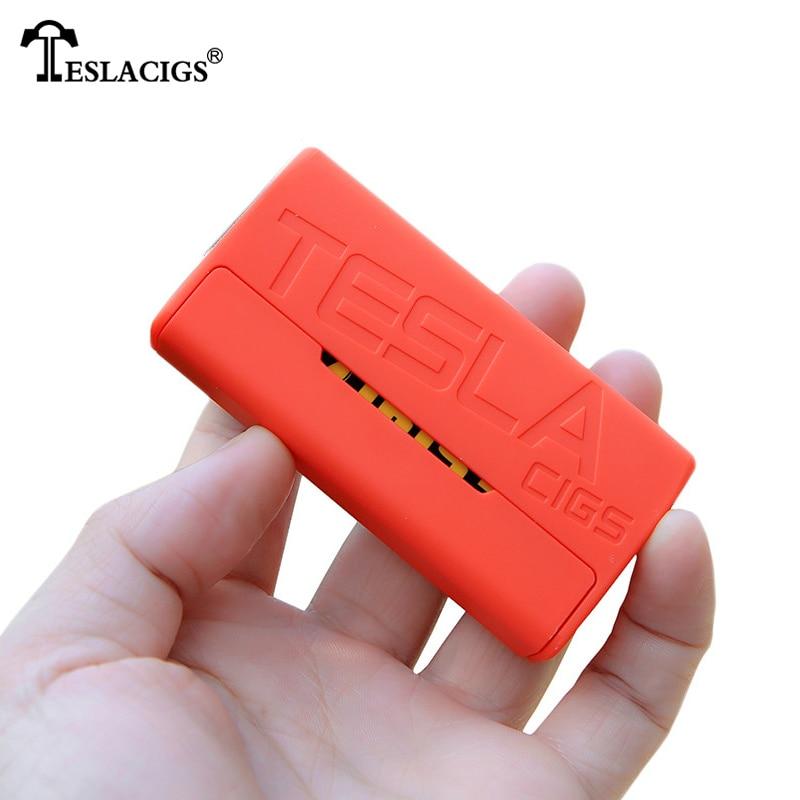 Lightest Electronic Cigarettes Mod Teslacigs Tesla WYE 85W Mod Teslacigs WYE 85W Temperature control Box Mod 510 Thread Vape