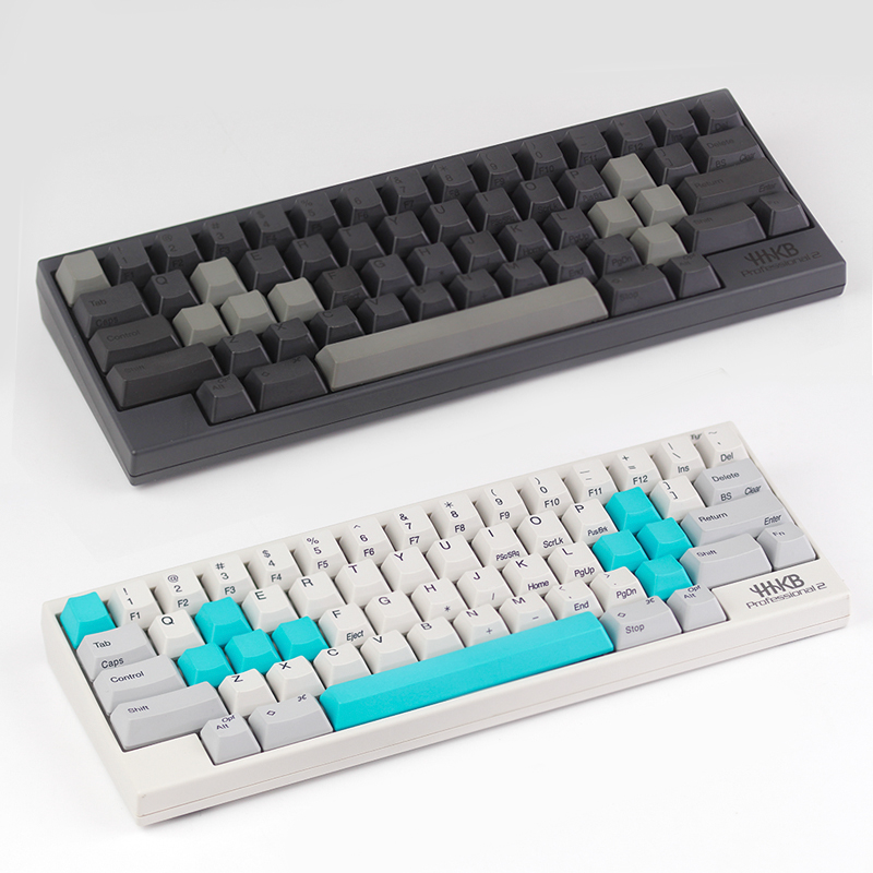 set for ESC W A S D or E S D F and arrow keys spacebar Topre realforce hhkb keyboard keycaps multicolour cap pbt material marc brown d w s lost blankie