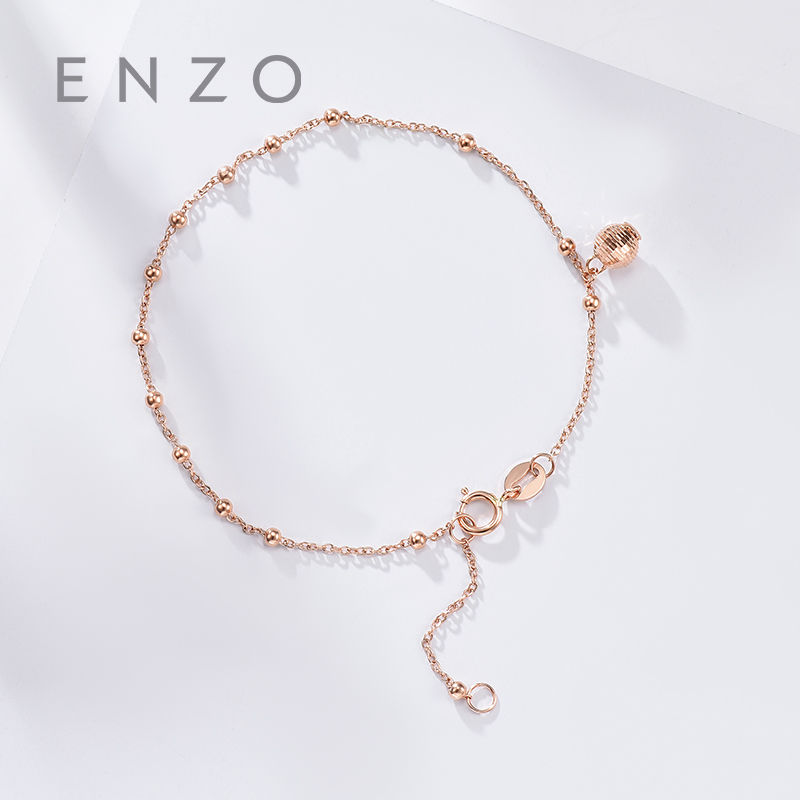Pure 18K Rose Gold Bracelet For Women Miss Girls Gift Female Fine Jewelry Genuine Real Solid Chain Upscale New Party Trendy real 18k gold jewelry heart earring women miss girls gift party female ear wire drop earrings solid hot sale new good trendy
