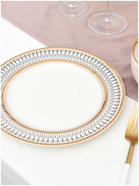 HTB1VBfTLXzqK1RjSZFoq6zfcXXag.jpg 640x640 - dinnerware - Nordic Ceramic Luxury Wedding Plates