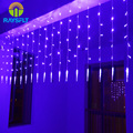 Christmas Lights Outdoor Decoration 2*0.6M Colorful Icicle LED Curtain String Light 220V For New Year Garden Xmas Party Garlands
