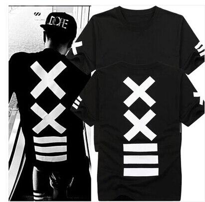 Male& Women hba Hip Hop extended tee t-shirt Men's metallica rock casual t shirts Bandana Print Graphic t-shirt for men camiseta