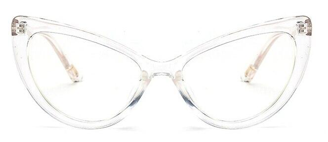 Cat Eye Sun glasses Brand Designer Sunglasses Oval Frame Glasses Gradient Color Eyeglasses gafas de sol Tom for Men Eyeglasses