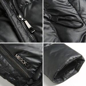 Image 5 - MIEGOFCE 2020 giacca da cappotto alla moda da donna con cappuccio caldo Parka Bio Fluff Parka Coat alta qualità femminile nuova collezione invernale