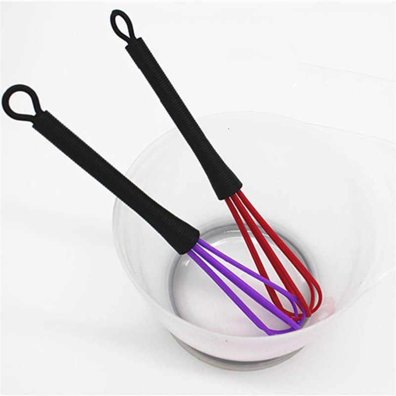Mini Plástico 8 CM Ovo Misturador de Leite Balão Cabeças de Cor Creme Pequeno mistura de Leite Misturador Batedor de Cozinha Kit DIY Bolo Pastelaria do navio da gota