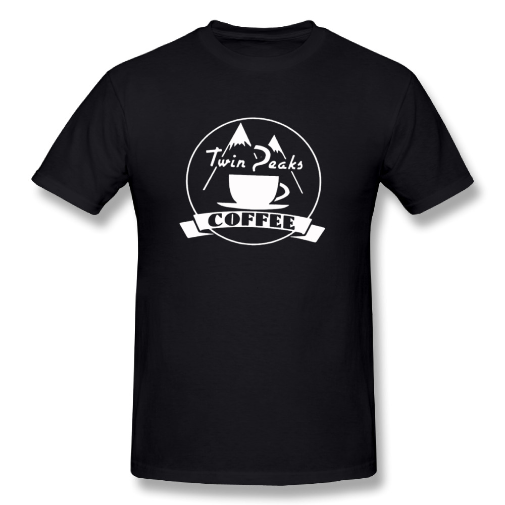 Twin Peaks coffeeT Shirt 2018 Man O-neck Design T Shirt Nice Tees FashioN T shirt