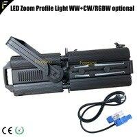 WA светодиодный Zoom профиль света WW + CW 3200 К + 5600 К исполнитель Profile 200 Вт для Театр/ аудитория/ТВ studio/конференц центр/музей