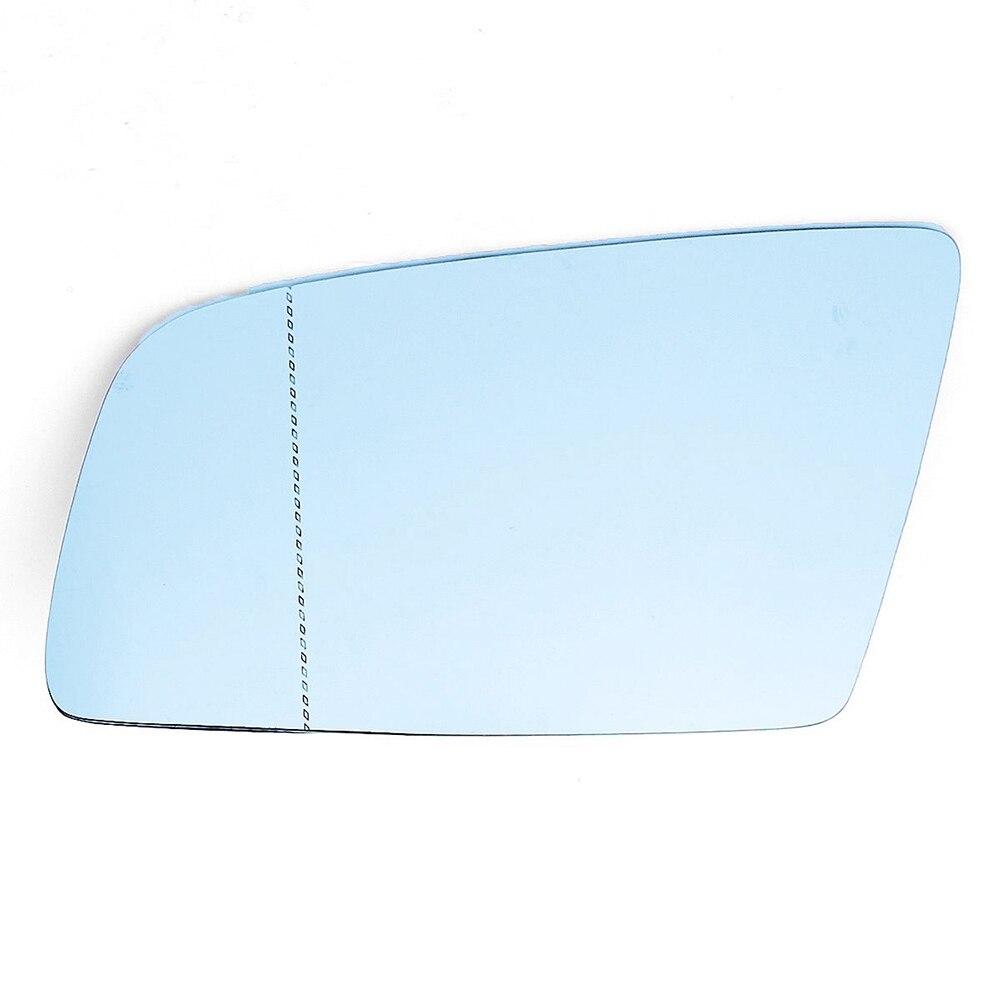 Left Side Car Mirror Glass Heated Blue for BMW 5-Series 528i 535i 550i 525i 2003