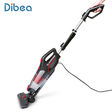 Dibea Stick Vacuum Cleaner 2-in-1 Upright and Handheld Vacuum Corded, 15Kpa Strong Suction for Carpet Hard Floor Dog Cat Pet Hai