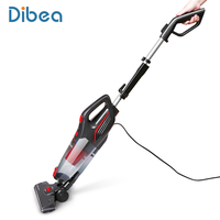 Dibea Stick Vacuum Cleaner 2 in 1 Upright and Handheld Vacuum Corded, 15Kpa Strong Suction for Carpet Hard Floor Dog Cat Pet Hai