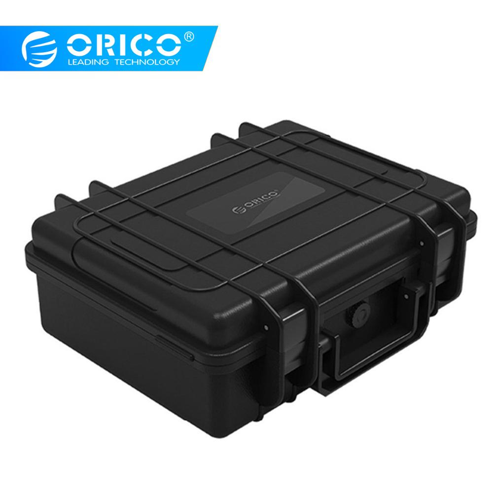 ORICO 20 bay 3.5 inch Hard Drive Protection Case Water-proof + Shock-proof + Dust-proof Function Safety Lock and Snap Design