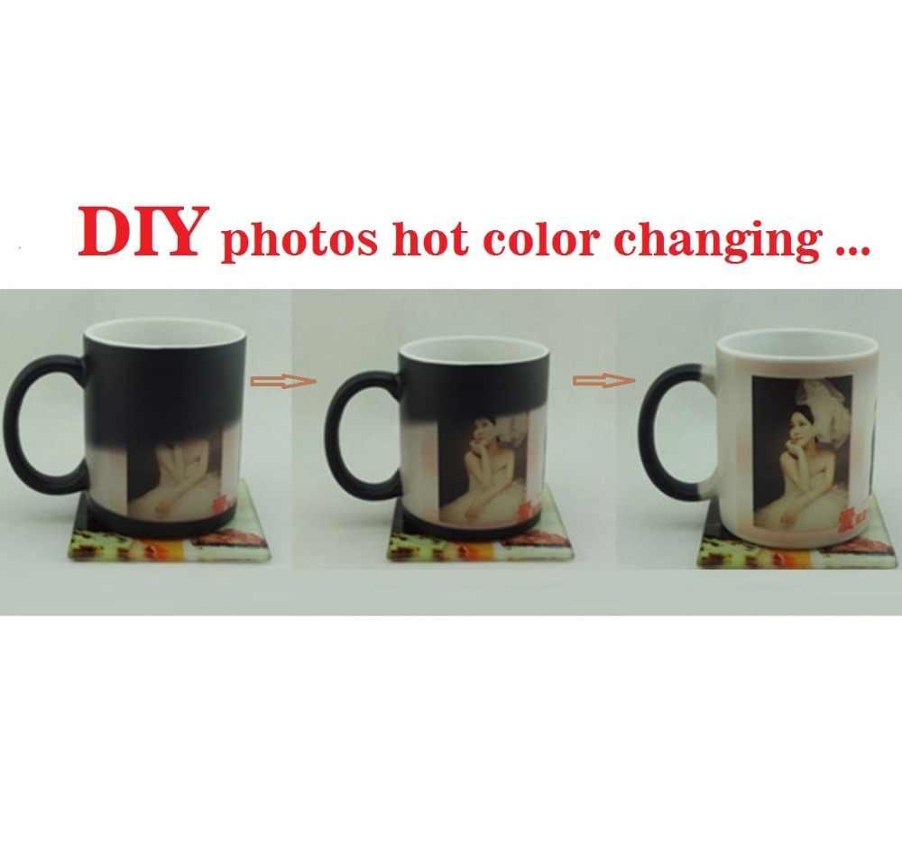 Tazza Personalizzata Fai Da Te tazza magica fai da te foto del cambiamento di colore di