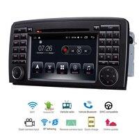 Автомобильный мультимедийный плеер 2 Din Android 7,1 автомобильный DVD для Benz R W251 R280 R300 R320 R350 R500 7 Радио gps