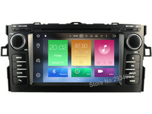 FOR TOYOTA AURIS 2007-2011 Android 8.0 Car DVD player Octa-Core(8Core) 4G RAM 1080P 32GB ROM WIFI gps head device unit stereo