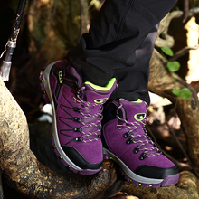 2016 Man Sports Outdoor Hiking Shoes Fishing Athletic Trekking Boots Women Climbing Walking Sneakers zapatillas trekking mujer