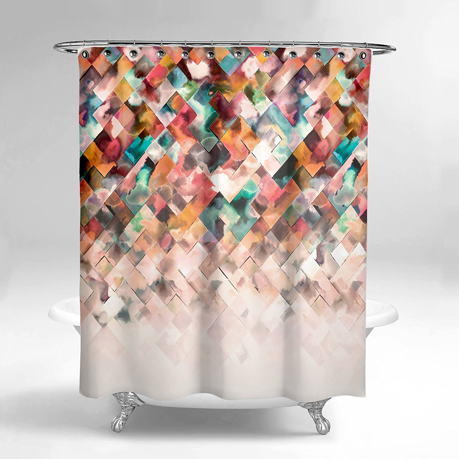 Cool Funny Shower Curtains For An Unique Bathroom Colorful