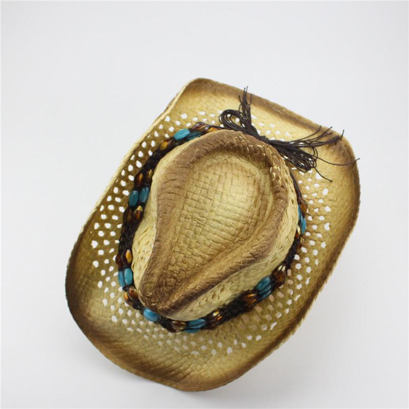 Chapeau western en paille