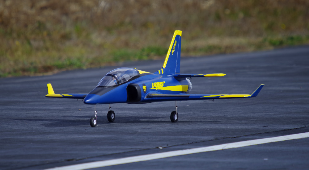 FMS RC Airplane Super Viper 70mm Ducted Fan EDF Jet Trainer Big Scale Model Plane Aircraft PNP 6S with Retracts