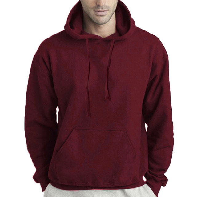 Autumn and Winter Men's Hoodies Sweatshirts Pullover for Male