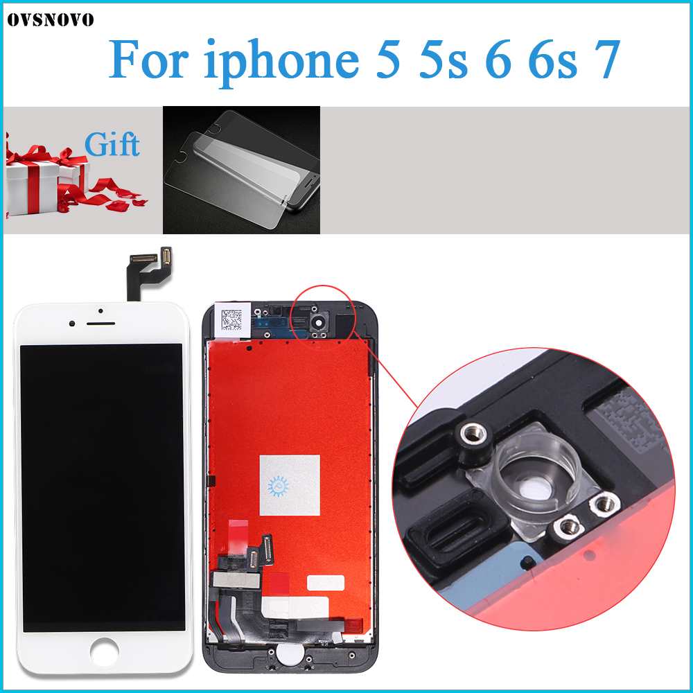 No Dead Pixel ecran For iPhone 7 LCD Display Touch Screen Replacement Assembly for iPhone 5 5s 6 6s LCD Display with Small PartsNo Dead Pixel ecran For iPhone 7 LCD Display Touch Screen Replacement Assembly for iPhone 5 5s 6 6s LCD Display with Small Parts