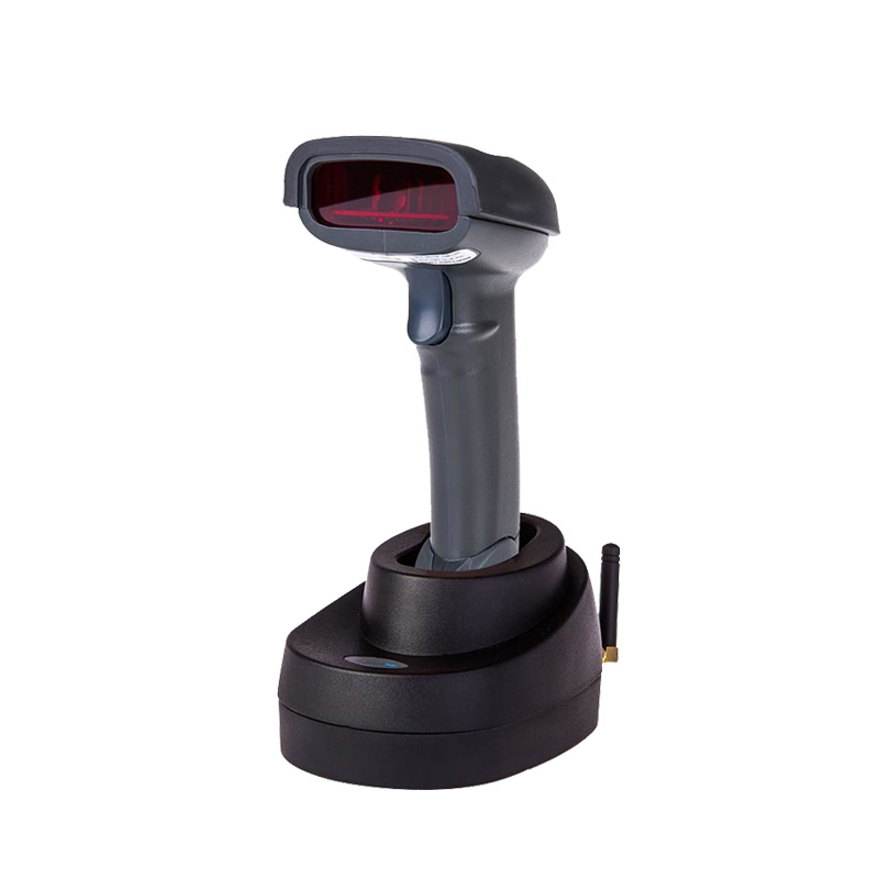 Promotion Portable Handheld Wireless Barcode Reader X7 Cordless Bar Code Scanner with Memory Inventory for POS