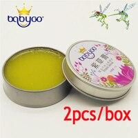 2 Piece Box Babygo 2016 Natural Healthy Non Toxic Baby Women Men Aroma Comfrey Ointment Detoxification