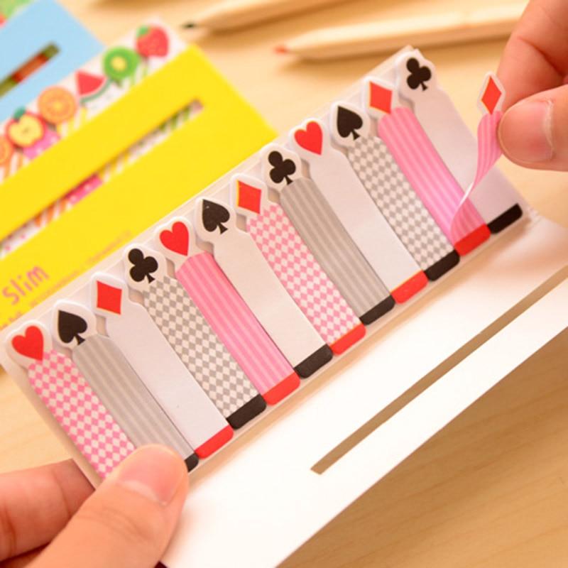 Cute Kawaii Fruit Heart Post It Note Writing Pads Cartoon Animal Memo Pad For Kids School Supplies Student 3856