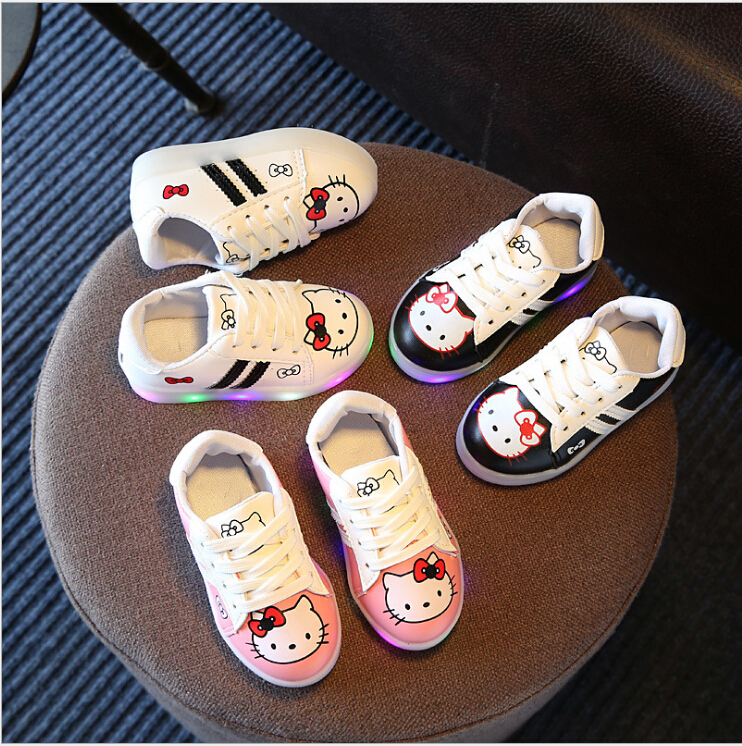 New-2017-Cool-LED-Lighted-Kids-Shoes-Fashion-SpringAutumn-Boys-Girls-Child-KT-Sneakers-Lovely-Baby-Lunimous-shoes-3-colors-3
