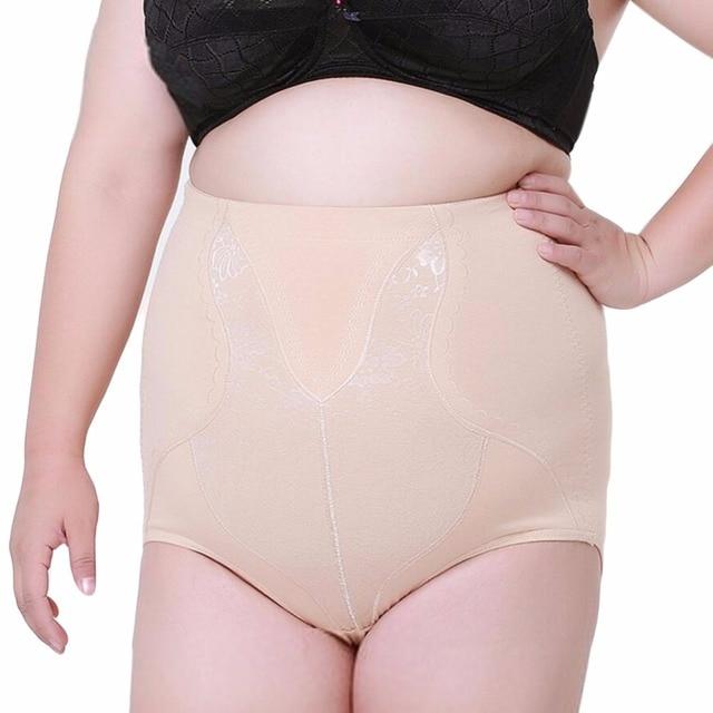 b8cbe1bb44 Big Plus Size Women Shapewear Brief High Waist Trainer Tummy Control Shaper  Panties Panty Underwear lingerie Women Body Shaper