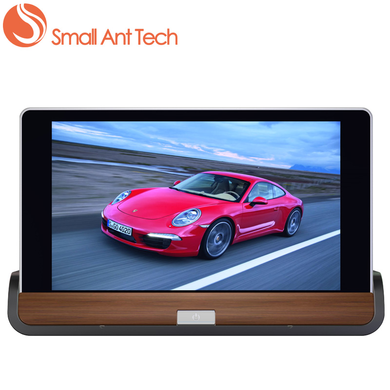 dash cam SMALLANTTECH 7 Car dvr GPS rearview camera Android 5.0 3G&WIFI Full HD1080P with Dual lens Recorder Registrar Dash Cam dash cam