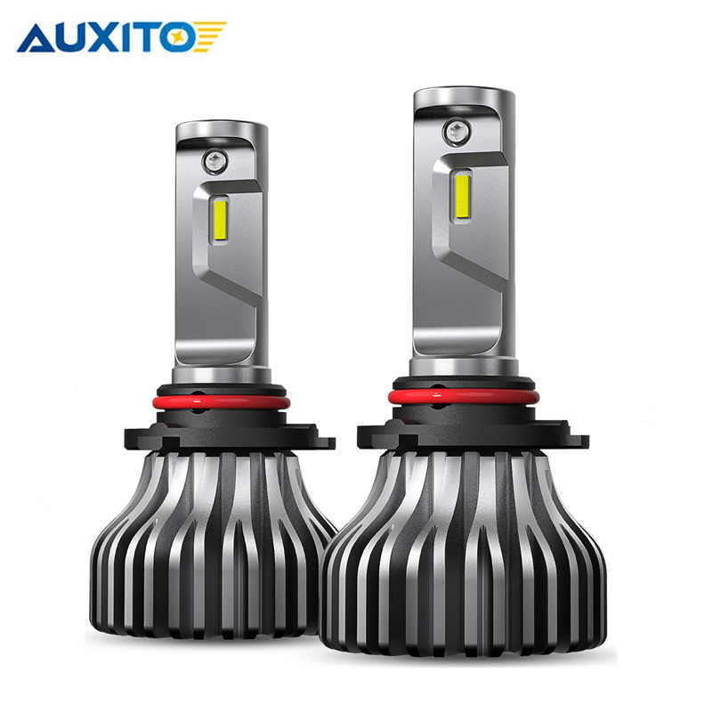 2PCS H7 LED H4 H11 H8 H9 9007/HB5 9005/HB3 9006/HB4 Fanless Car led Headlight Bulb for BMW E60 E36 E46 E30 Honda Accord Insight