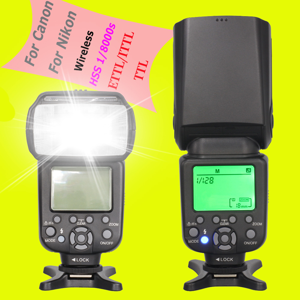 INSEESI IN 586EX II Wireless TTL HSS Flash Speedlite Speedlight For Canon Nikon Vs YONGNUO YN560 III YN-560 IV YN-565EX YN565EX yongnuo yn685 wireless 2 4g hss ttl ittl speedlite flash for canon nikon support yn560iv yn560 tx rf605 rf603 ii yn685c yn685n