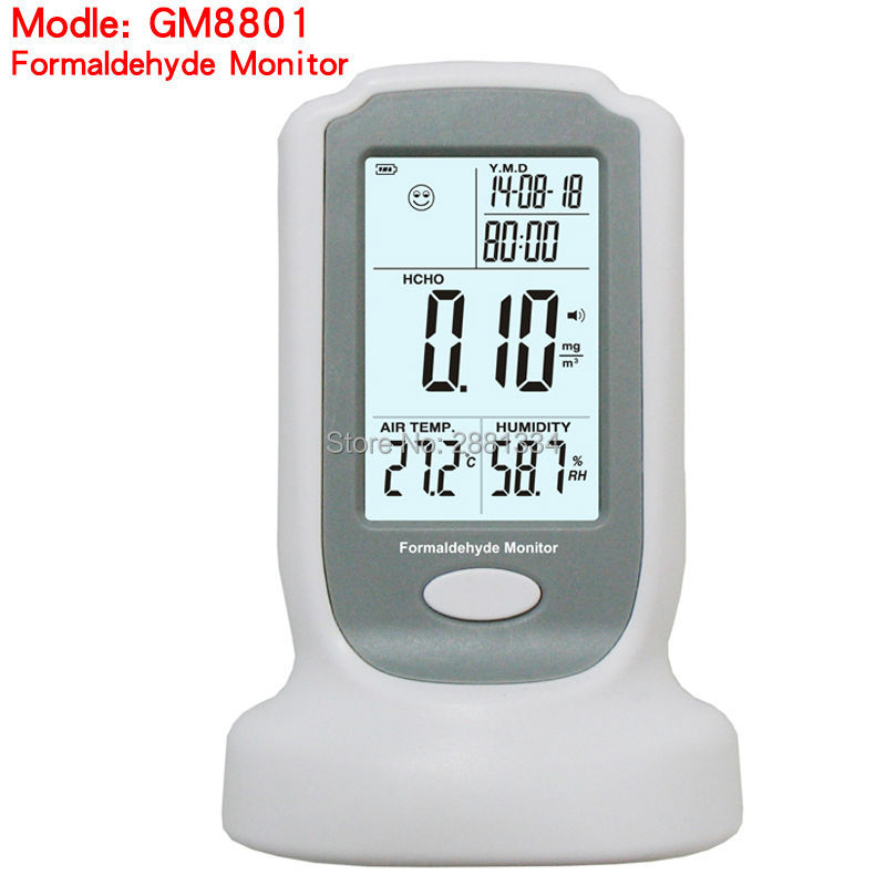 2017 hot sale GM8801 High sensitive Formaldehyde detector meter HCHO air quality testing Gas analyzer tester 0-3mg/m3