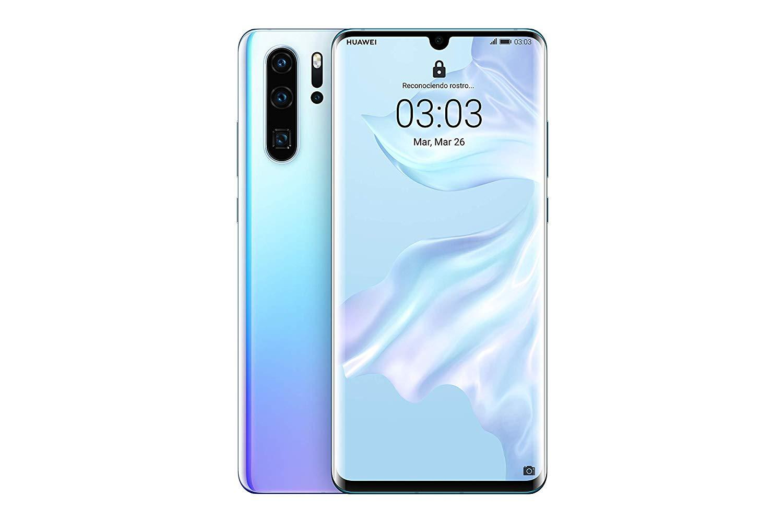 Huawei P30 Pro, Nacre couleur (cristal respirant), double SIM, 12 8GB Memoria interne, 8GB RAM, écran 6.47