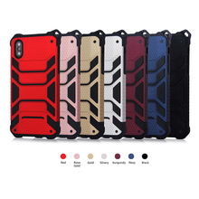 New super military quality for iphone X 6 plus 6S plus 7 7plus 8 8plus case Combo anti-crash shell God of War protection