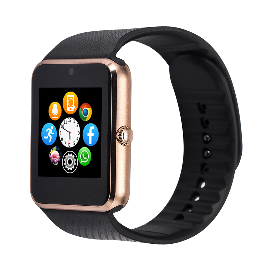 Smart Watch font b Smartwatch b font GT08 GT 08 Akilli Saat Montre With Sim Card