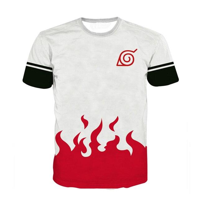 Naruto Men 3D Print T-shirts
