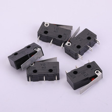 Micro Switch Straight Shank Three-Leg Shrapnel Length 18mm Middle Hole Diameter 2.4mm 20mm Height 11mm Thickness 7mm