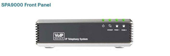 Unlocked Linksys SPA9000 SIP iP PBX VOIP Phone Adapter Telephone Telefone Voice