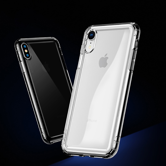 new arrival 4a9c2 eb55a US $1.59 20% OFF|For iPhone Xs Xs Max XR Anti knock Airbag Silicone Phone  Case For iPhone XS Max XR X 8 7 6 6S S Plus 5 5S SE Transparent Cover-in ...