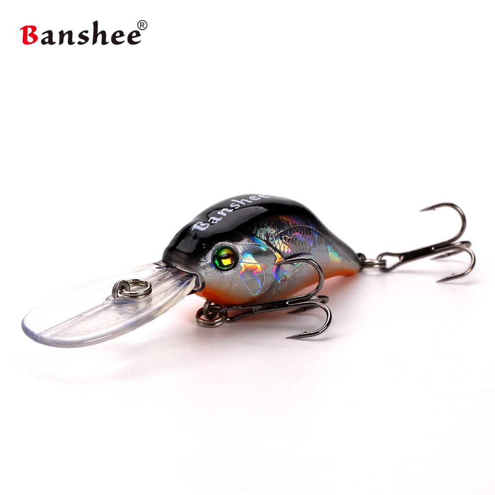 1pcs VC07 fishing lures hard bait wobblers Crankbaits Floating Diving Depth 2-3m fishing tackles isca Artificial pesca perch