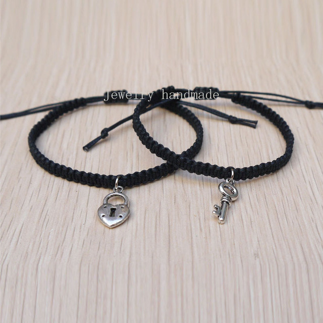 Key Lock Loves Bracelet Hers And His Bracelet Couples Bracelet