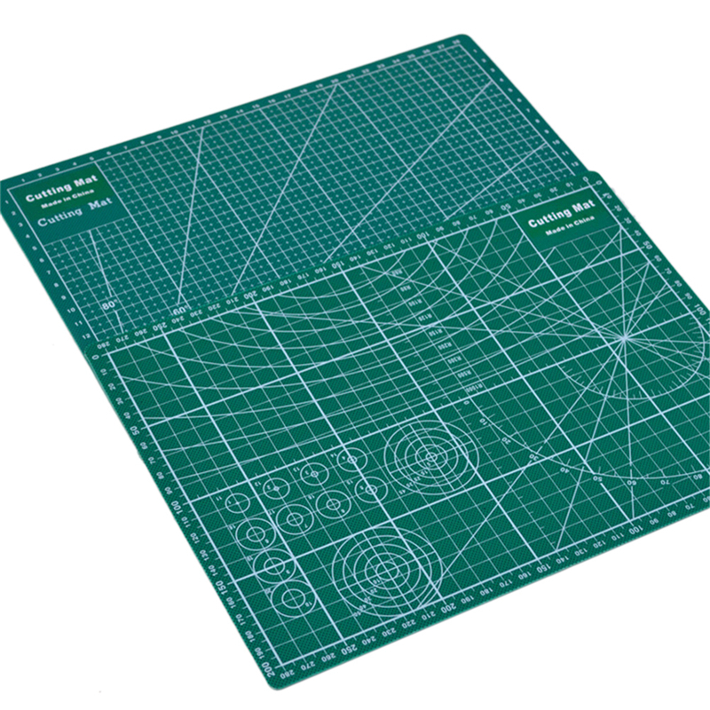 1pc Cutting Mat A4 Durable Self-healing Cutpad Patchwork Tool Handmade Cuttingplate Dark Green School Stationery Supplies22x30cm