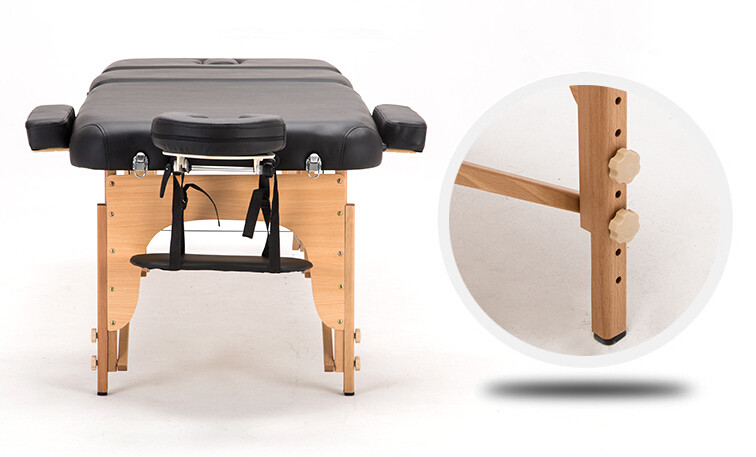 buy portable spa massage tables adjustable with carrying bag salon furniture wooden folding bed beauty massage table from - Massage Tables