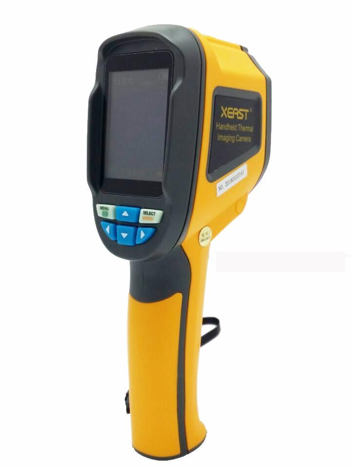 HT 02 Handheld Thermal Imaging Camera Infrared Thermometer IR Thermal Imager Thermometre Infrarouge Termometro Infravermelho