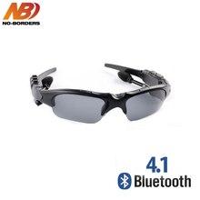 201dfbd535 NO-BORDERS Cycling Sunglasses Riding Bluetooth Earphone Smart Glasses  Outdoor Sport Wireless Bike Sun Glasses