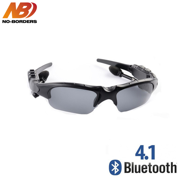 d464315936a6 NO BORDERS Smart Glasses Riding Bluetooth Earphone Cycling Sunglasses  Outdoor Sport Wireless Sun Glasses Headphones with Mic-in Bluetooth  Earphones ...